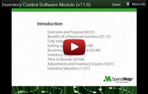 Inventory Control Software Video Tutorial