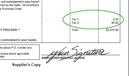 tax totals