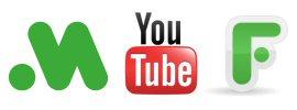 Youtube-SM-logos