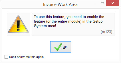 enable-module in Free Purchase Order Software