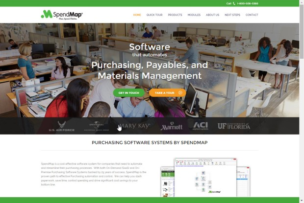 New SpendMap website
