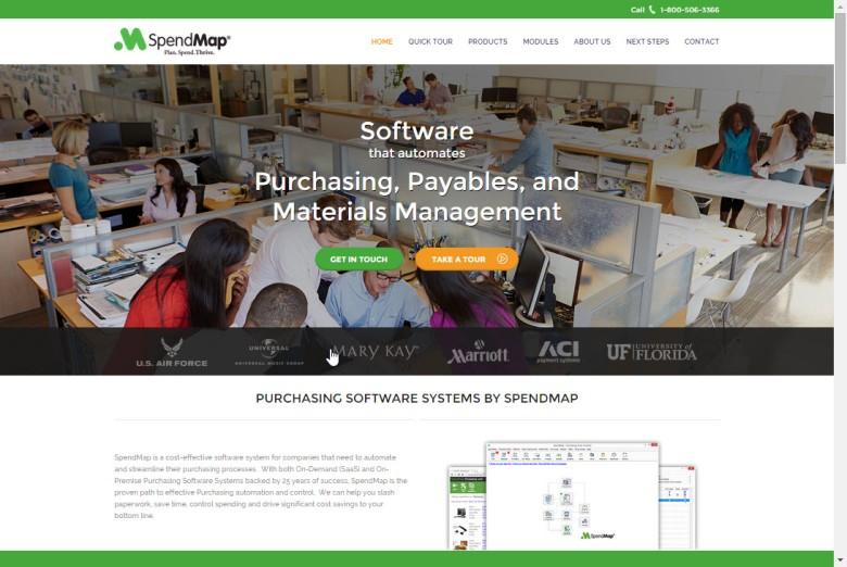 New SpendMap website